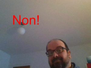 Mauvais Cours par skype - position camera